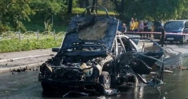 Ukrayna'da patlama! Ölü ve yaralılar var