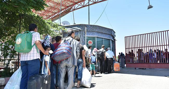 Suriyeli sığınmacılar Türkiye'ye geri dönüyor
