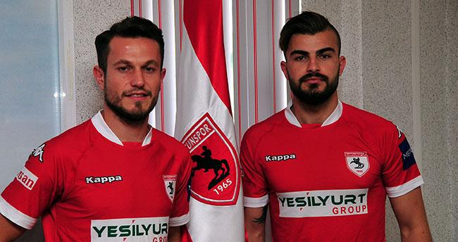Konya'dan Samsunspor'a iki futbolcu