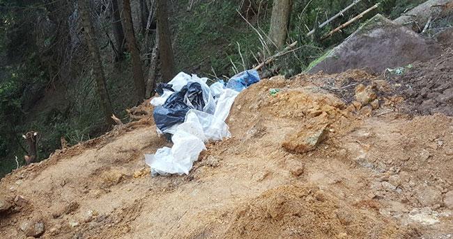 Ordu'da şehit askerlerin silahları toparağa gömülü bulundu