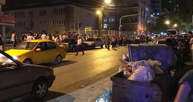 Ankara'da Suriyelilerle vatandaşlar arasında gerginlik