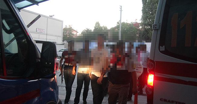Konya merkezli FETÖ/PDY operasyonu : 14 astsubay gözaltına alındı