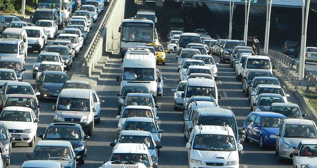 Konya'da motorlu taşıt sayısı arttı