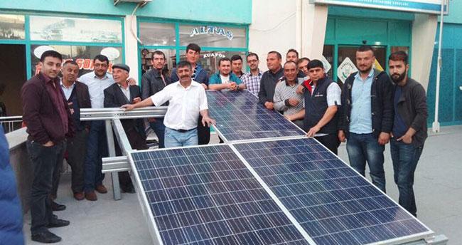 Karapınar'da enerji kursu
