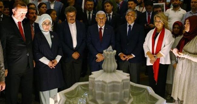 Tansu Çiller de 15 Temmuz Şehitler Köprüsü'ndeydi