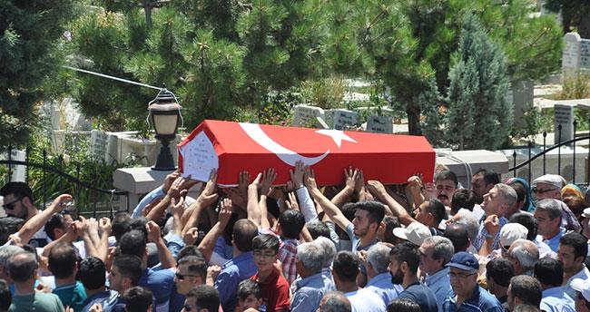 Konyalı Şehit Polis Battal Yıldız son yolculuğuna uğurlandı