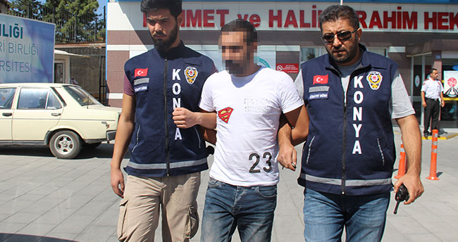 Konya'da sokak ortasında av tüfeği ile cinayet