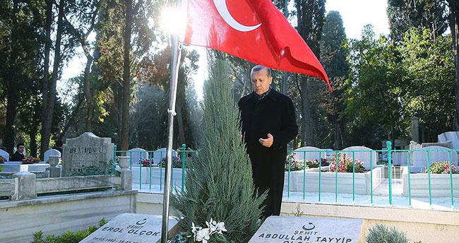 Erdoğan, yol arkadaşını yazdı