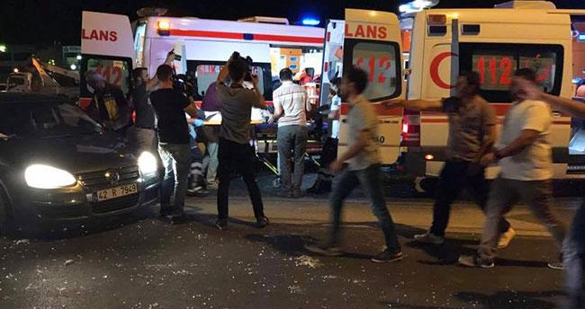 Konya – Ankara yolunda feci kaza : 1 ölü, 7 yaralı
