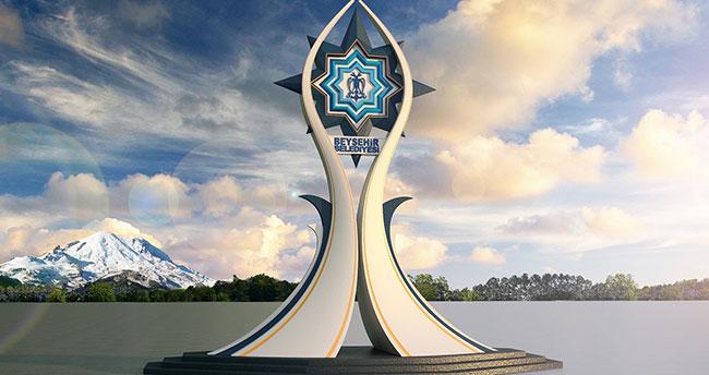 Beyşehir'e ilçeyi sembolize edecek anıt projesi
