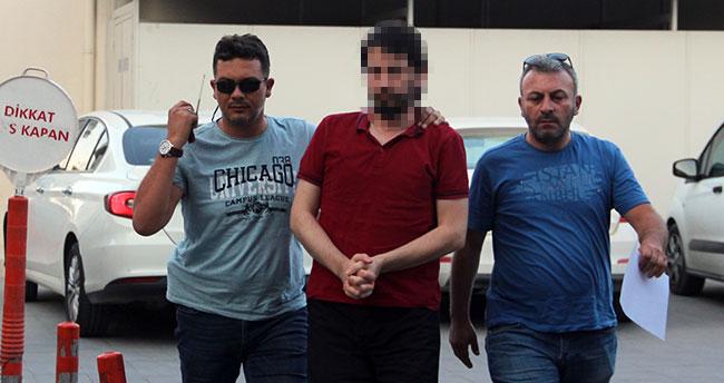 Konya aranan 'mahrem asker abisi' kaçarken polise çarptı