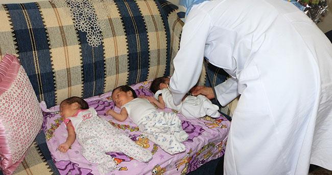 Başkan Hançerli üçüz bebek ziyaretinde