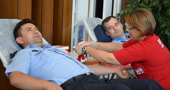 Karatay Belediyesi çalışanlarından kan bağışına destek