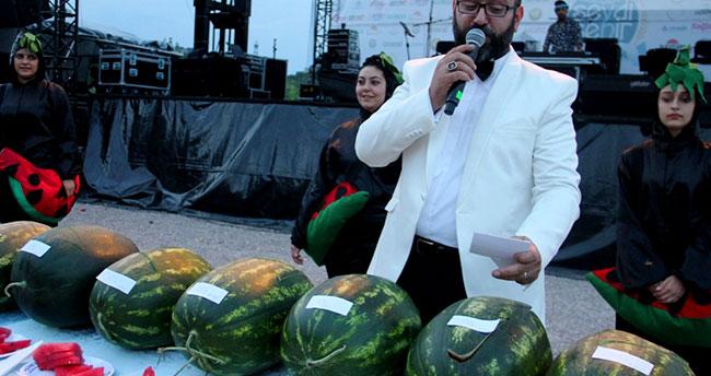 """Seydişehir'de """"Karpuz Yarışması"""""""