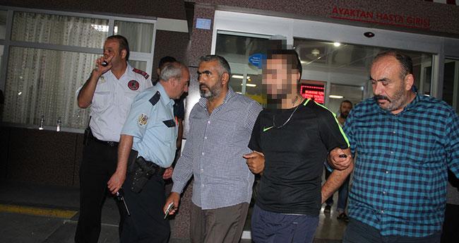 Konya'daki gaspçıyı, elleri ve boynundaki dövmeleri yakalattı