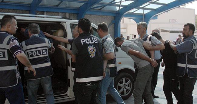 Konya'da gasp iddiası : 4 şüpheli yakalandı