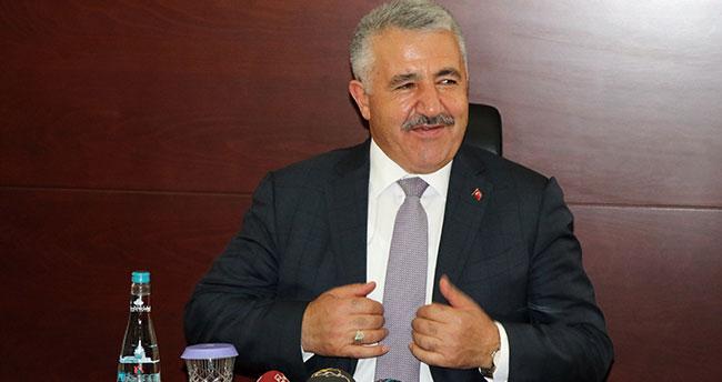 Ulaştırma Bakanı Arslan Konya'da
