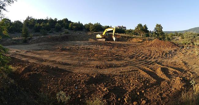 Beyşehir'in Huğlu Mahallesi yeni halı sahasına kavuşuyor