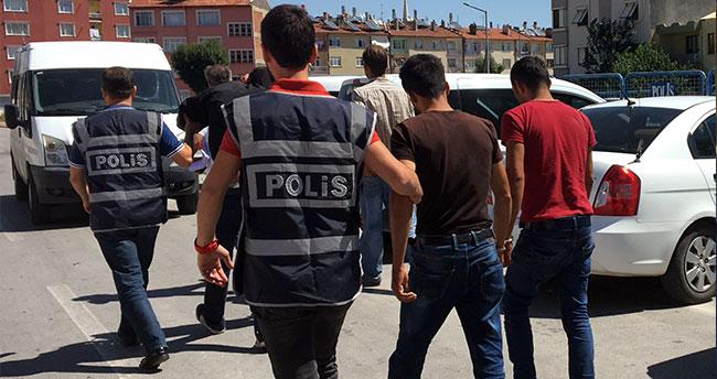 Konya'da 7 cezaevi firarisi hırsızlık suçundan yakalandı
