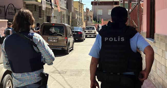 Konya'da rehine ihbarı polisi harekete geçirdi