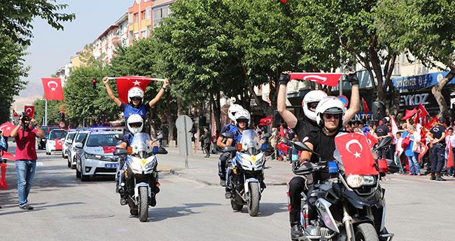 Konya'da 30 Ağustos Zafer Bayramı'nın 95. yılı kutlandı
