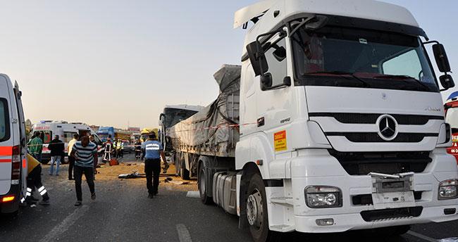 Ankara'da feci kaza : 3 ölü
