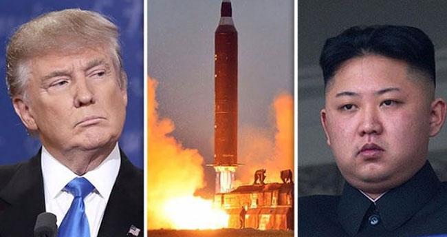 Kuzey Kore, ABD'ye rest çekti!