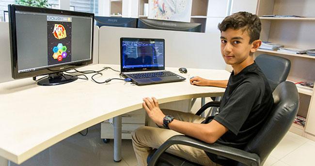 13 yaşında oyun hazırladı: Hedefi 1 milyon kişiye ulaşmak
