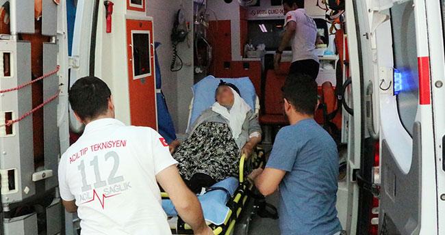 Konya'da yaşlı kadın torununun ateşlediği kuru sıkı tabancadan yaralandı