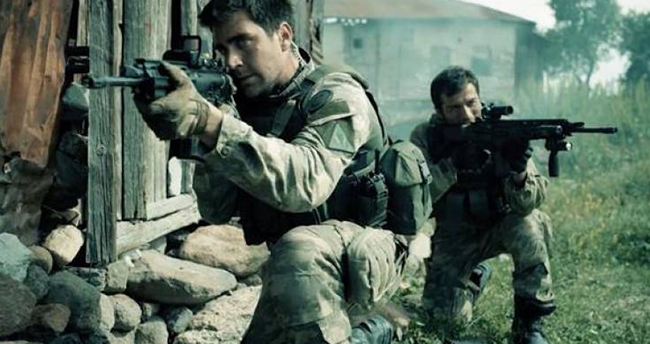 Dağ filminde adı geçen köyü PKK'lılar işgal etti