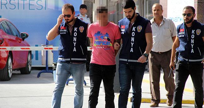 Konya'da eşini öldüren cinayet zanlısı Adana otogarında yakalandı