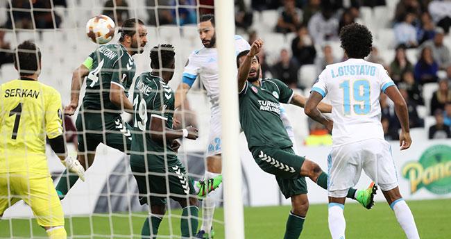 Olympique Marsilya-Atiker Konyaspor maçından notlar