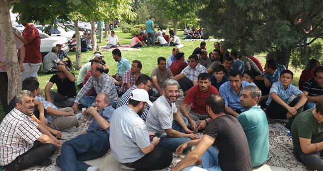 Konya'da saya işçileri iş bırakma eylemi yaptı!
