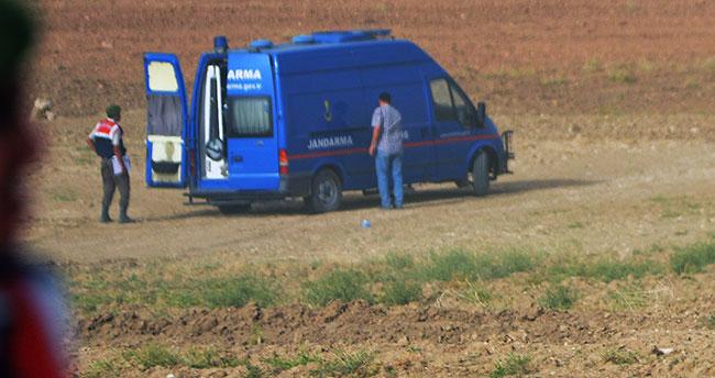 Konya'da tarlada bulunan mühimmat imha edildi
