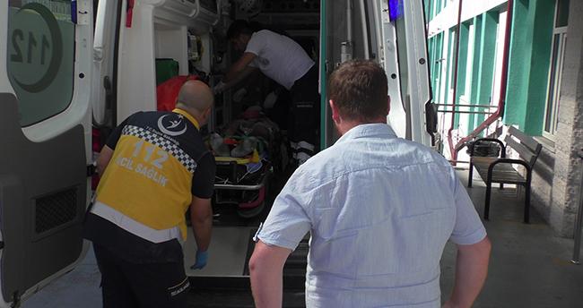 Konya'da havalandırma boşluğuna düşen usta yaralandı