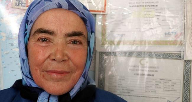 72 Yaşında Lise Mezunu Oldu