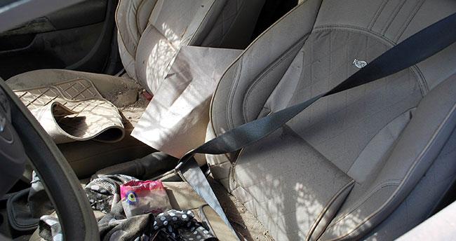 Emniyet kemerini arkadan taktı, araçtan fırlayarak hayatını kaybetti