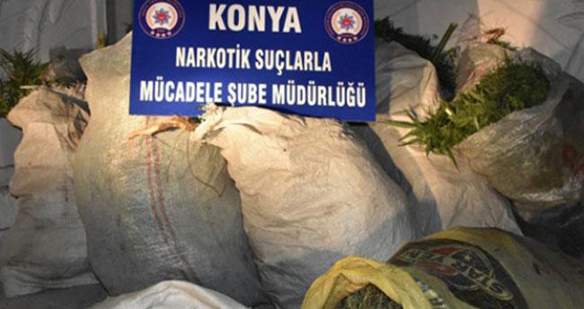 Konya dahil 21 ilde narkotik operasyon