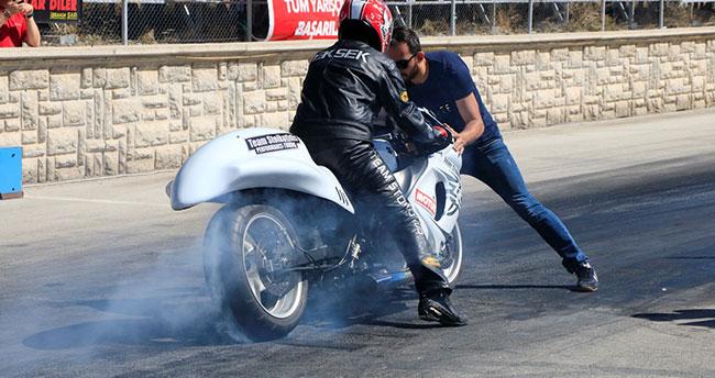 Türkiye Motodrag Şampiyonası 4. ayak yarışları, Konya'da yapıldı