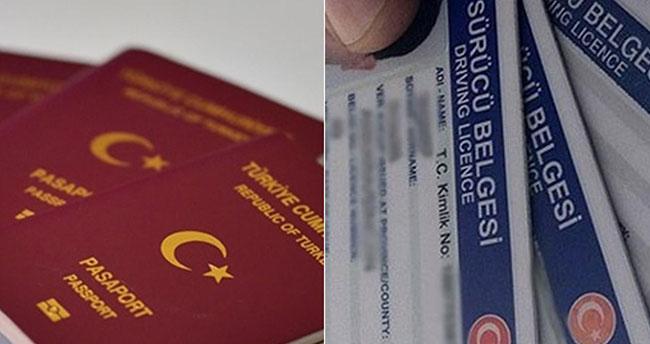 Pasaport ve ehliyeti nüfus idaresi verecek