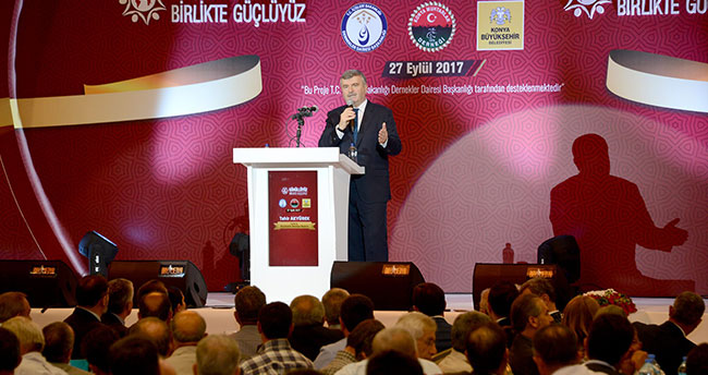 """""""Konya, gönüllü itfaiyecilik çalışmalarında Türkiye'ye örnek"""""""