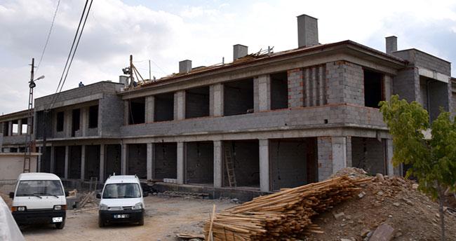 Tepekent'e Ticaret Merkezi yapılıyor