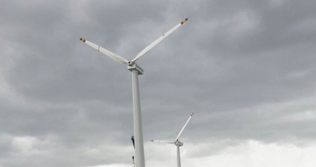 Hüyük çiftçisi, rüzgar enerji santralının devreye girmesini bekliyor