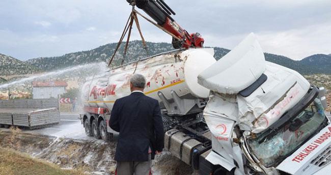 20 bin litre benzin şarampole döküldü