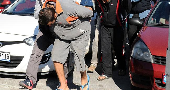 Teröristleri ülkeye sokan Suriyeli gemi personeli tutuklandı