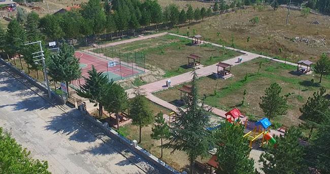 Beyşehir'deki Şehit İdris Ulu Parkı yenilendi