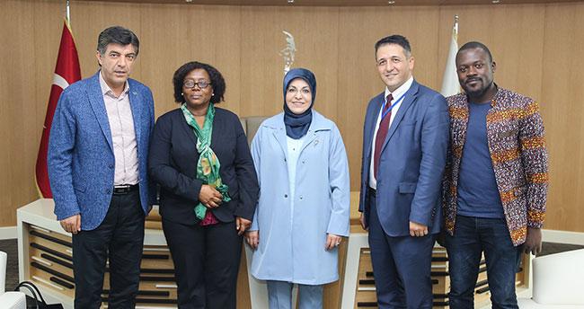 Tanzanya Büyükelçisi'nden Başkan Toru'ya ziyaret