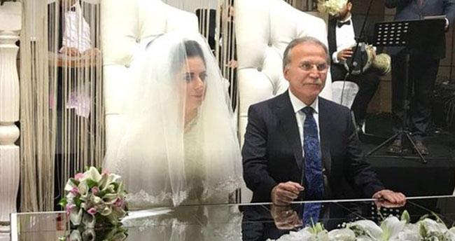 AK Partili Mehmet Ali Şahin evlendi