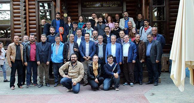 Konya basını Akşehir'i gezdi