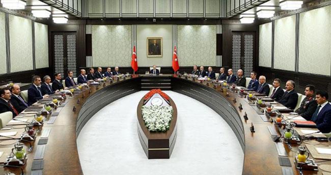 MGK toplantısı sona erdi